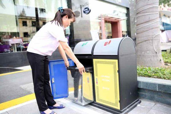 Top 3 loại thùng rác ngoài trời phổ biến nhất hiện nay